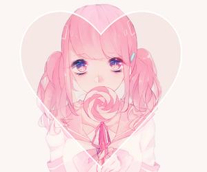 cute, anime, and girl image