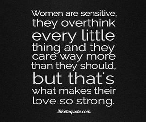 care, sensitive, and strong image