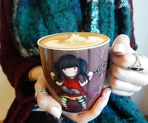 coffee, colors, and mugs image