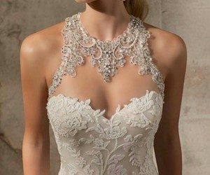 bridal, dresses, and fashion image