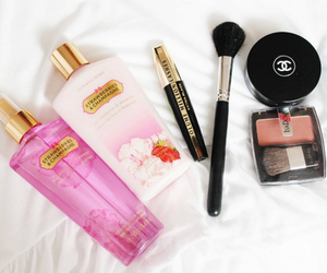chanel, makeup, and Victoria's Secret image