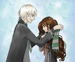 dramione and harry potter image