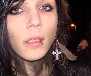 andy biersack, black veil brides, and andy six image