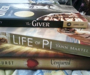 Life of Pi, the giver, and conjured image