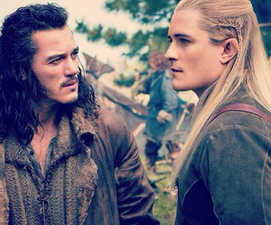 Legolas, bard, and the hobbit image