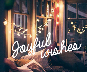 wish, joy, and lights image