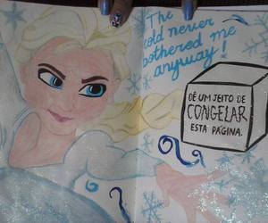 frozen, wreck this journal, and wreck this journal ideas image