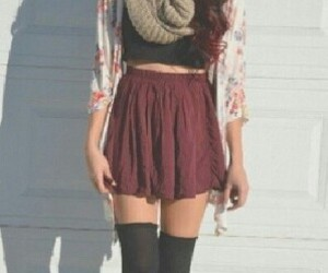 beautiful, outfit, and girl image