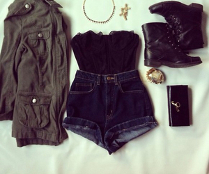 beautiful, outfit, and parka image