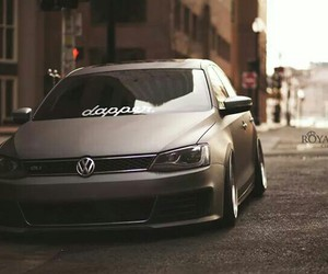 car, low, and stance image