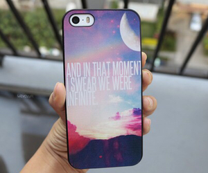 colorful, infinity, and phone case image