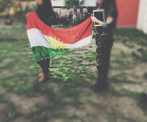 kurdish, kurdistan, and kurdishflag image