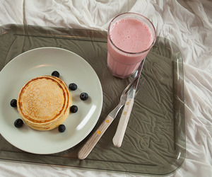 blueberries, yummy, and breakfast image