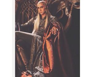 the hobbit and thranduil image
