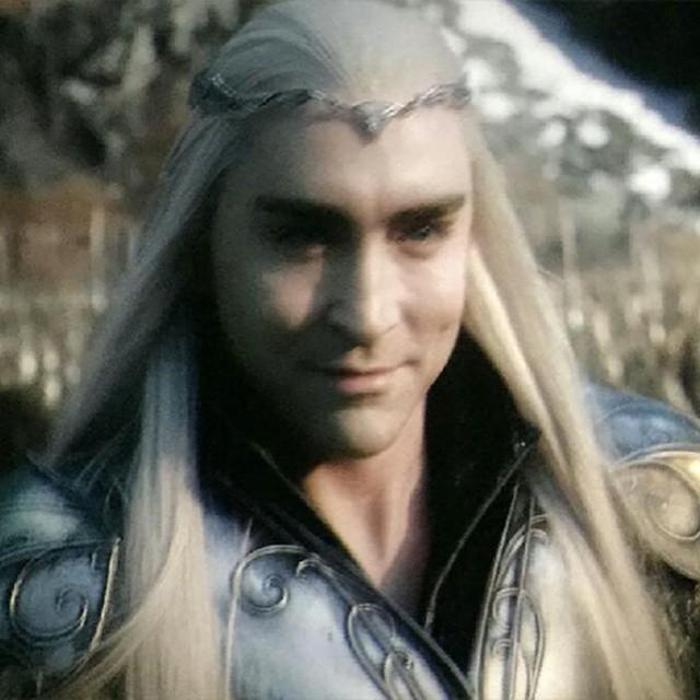 lol, the hobbit 3, and thranduil image