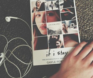 book, if i stay, and love image