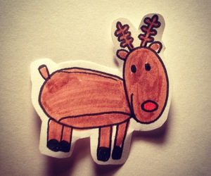 christmas, diy, and reindeer image