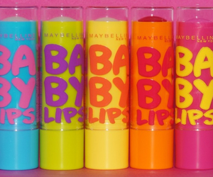 lips, baby lips, and pink image