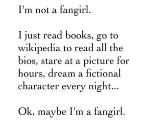 books, fangirls, and fangirl image