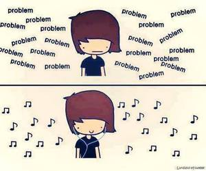 music, problem, and boy image