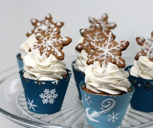 baking, cakes, and christmas image