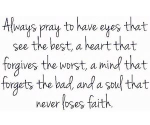 quote and pray image