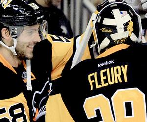 flower, hockey, and nhl image