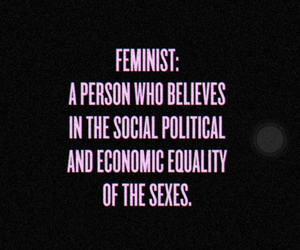 feminist, beyoncé, and equality image