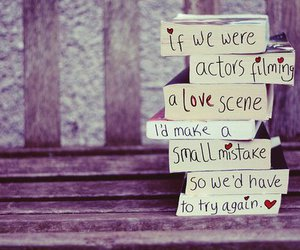love, actor, and book image