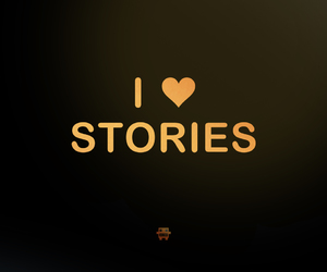 stories, text, and love image