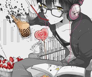 anime, sweet, and boy image