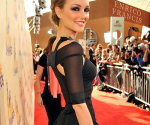 leighton meester, gossip girl, and dress image
