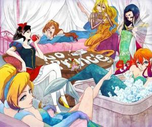 disney, princess, and anime image