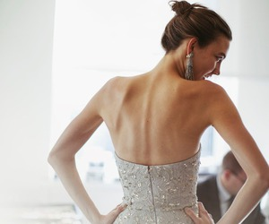 dress and Karlie Kloss image