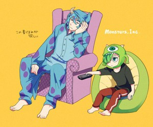 disney, cute, and monster inc image