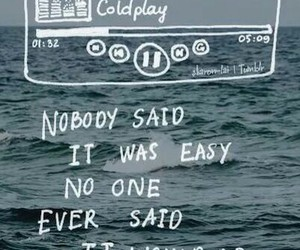 coldplay, music, and quote image