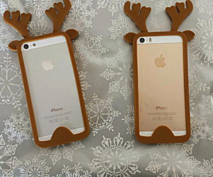 iphone, christmas, and apple image