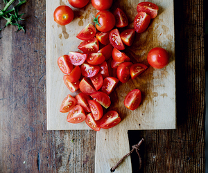 tomato, food, and healthy image
