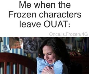 frozen, ouat, and frozen characters image