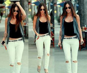 megan fox, outfit, and jeans image