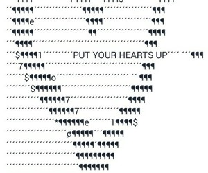 ariana grande and put your hearts up image