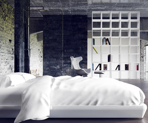 beautiful, bed, and home image