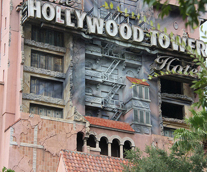 hollywood, house, and tower image
