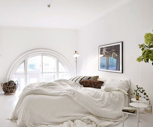 bed, home, and love image