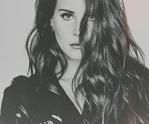 black and white, lana del rey, and grunge image