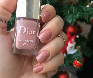 dior, girl, and nails image