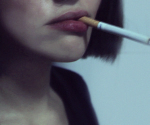 cigarette, pale, and grunge image