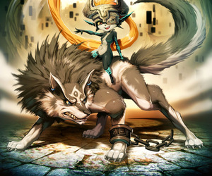 twilight princess, link, and the legend of zelda image