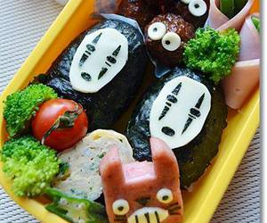 anime, bento, and spirited away image