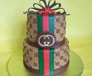 cake and gucci image
